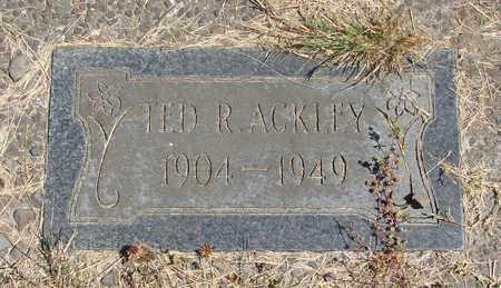 ACKLEY, THEODORE R - Tillamook County, Oregon | THEODORE R ACKLEY - Oregon Gravestone Photos