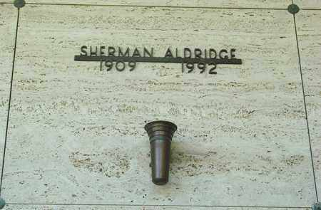 ALDRIDGE, SHERMAN JUNE - Tillamook County, Oregon | SHERMAN JUNE ALDRIDGE - Oregon Gravestone Photos