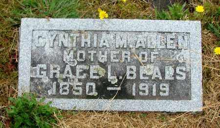 ALLEN, CYNTHIA M - Tillamook County, Oregon   CYNTHIA M ALLEN - Oregon Gravestone Photos