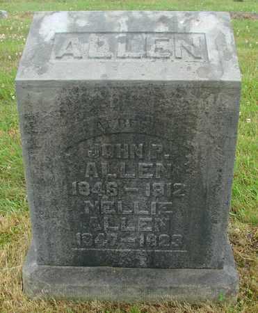 ALLEN, NELLIE - Tillamook County, Oregon | NELLIE ALLEN - Oregon Gravestone Photos