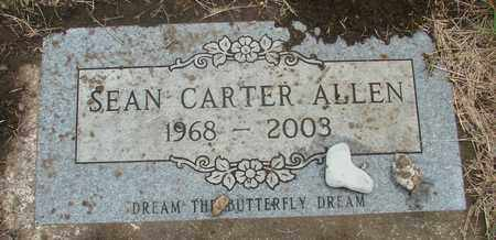ALLEN, SEAN CARTER - Tillamook County, Oregon | SEAN CARTER ALLEN - Oregon Gravestone Photos