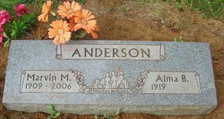 ANDERSON, ALMA B - Tillamook County, Oregon   ALMA B ANDERSON - Oregon Gravestone Photos