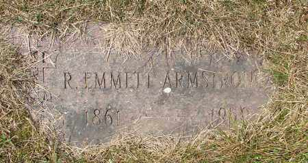ARMSTRONG, R EMMETT - Tillamook County, Oregon | R EMMETT ARMSTRONG - Oregon Gravestone Photos