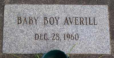 AVERILL, BABY BOY - Tillamook County, Oregon   BABY BOY AVERILL - Oregon Gravestone Photos