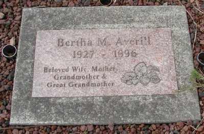 AVERILL, BERTHA M - Tillamook County, Oregon | BERTHA M AVERILL - Oregon Gravestone Photos