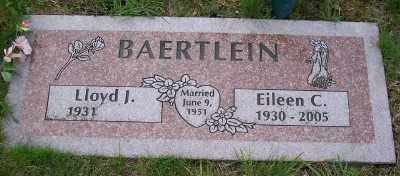 BAERTLEIN, EILEEN C - Tillamook County, Oregon | EILEEN C BAERTLEIN - Oregon Gravestone Photos