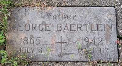 BAERTLEIN, GEORGE - Tillamook County, Oregon | GEORGE BAERTLEIN - Oregon Gravestone Photos