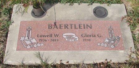 BAERTLEIN, LOWELL WILLIAM - Tillamook County, Oregon | LOWELL WILLIAM BAERTLEIN - Oregon Gravestone Photos