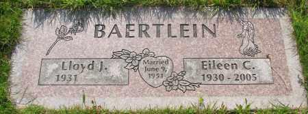 BAERTLEIN, LLOYD J - Tillamook County, Oregon | LLOYD J BAERTLEIN - Oregon Gravestone Photos