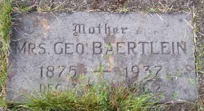 BAERTLEIN, MRS GEORGE - Tillamook County, Oregon | MRS GEORGE BAERTLEIN - Oregon Gravestone Photos