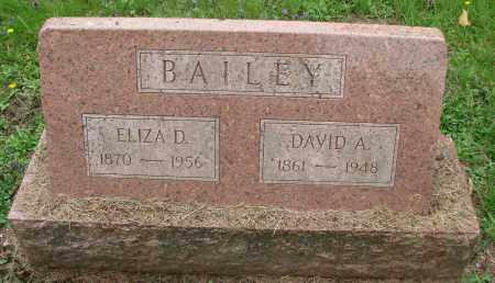 BAILEY, DAVID A - Tillamook County, Oregon | DAVID A BAILEY - Oregon Gravestone Photos