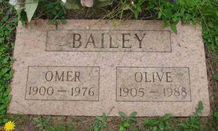 BAILEY, OLIVE - Tillamook County, Oregon | OLIVE BAILEY - Oregon Gravestone Photos