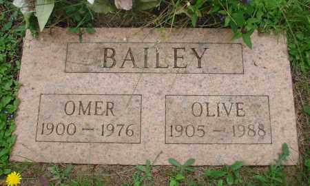 BAILEY, OMER - Tillamook County, Oregon | OMER BAILEY - Oregon Gravestone Photos