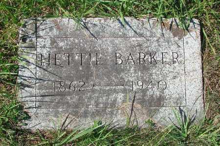 BARKER, HETTIE - Tillamook County, Oregon | HETTIE BARKER - Oregon Gravestone Photos