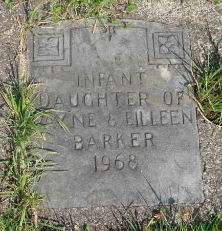 BARKER, INFANT - Tillamook County, Oregon | INFANT BARKER - Oregon Gravestone Photos
