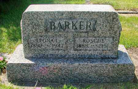 BARKER, ROSCOE - Tillamook County, Oregon | ROSCOE BARKER - Oregon Gravestone Photos