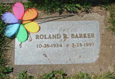 BARKER, ROLAND ROSCOE - Tillamook County, Oregon | ROLAND ROSCOE BARKER - Oregon Gravestone Photos