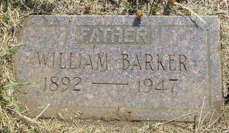 BARKER, WILLIAM - Tillamook County, Oregon   WILLIAM BARKER - Oregon Gravestone Photos