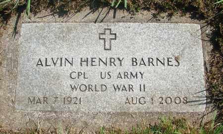 BARNES, ALVIN HENRY - Tillamook County, Oregon | ALVIN HENRY BARNES - Oregon Gravestone Photos