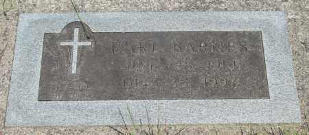 BARNES, EARL - Tillamook County, Oregon   EARL BARNES - Oregon Gravestone Photos