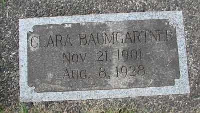 BAUMGARTNER, CLARA - Tillamook County, Oregon | CLARA BAUMGARTNER - Oregon Gravestone Photos