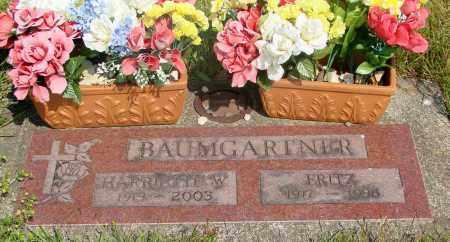 BAUMGARTNER, FRITZ - Tillamook County, Oregon | FRITZ BAUMGARTNER - Oregon Gravestone Photos