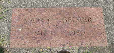 BECKER, MARTIN J - Tillamook County, Oregon | MARTIN J BECKER - Oregon Gravestone Photos