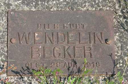 BECKER, WENDELIN - Tillamook County, Oregon   WENDELIN BECKER - Oregon Gravestone Photos