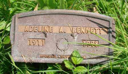 BENNETT, ADELINE A - Tillamook County, Oregon   ADELINE A BENNETT - Oregon Gravestone Photos
