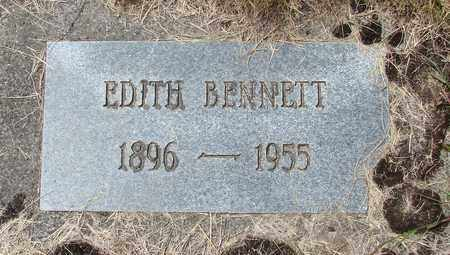 BENNETT, EDITH - Tillamook County, Oregon | EDITH BENNETT - Oregon Gravestone Photos