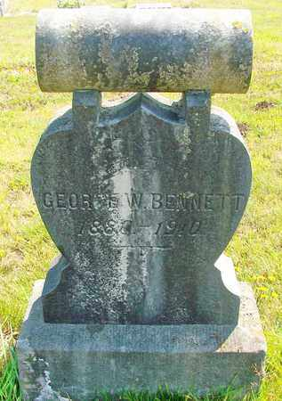 BENNETT, GEORGE W - Tillamook County, Oregon | GEORGE W BENNETT - Oregon Gravestone Photos