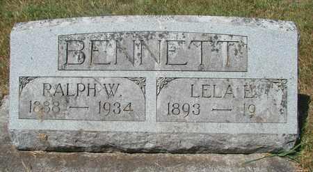 BENNETT, RALPH W - Tillamook County, Oregon | RALPH W BENNETT - Oregon Gravestone Photos