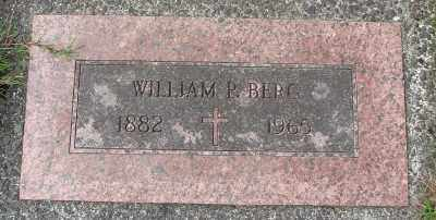 BERG, WILLIAM P - Tillamook County, Oregon   WILLIAM P BERG - Oregon Gravestone Photos