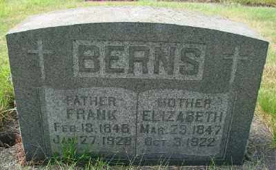 BERNS, FRANK - Tillamook County, Oregon | FRANK BERNS - Oregon Gravestone Photos