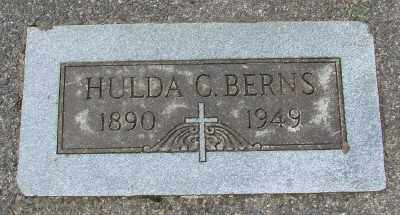 BERNS, HULDA CATHERINE - Tillamook County, Oregon | HULDA CATHERINE BERNS - Oregon Gravestone Photos