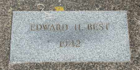 BEST, EDWARD H - Tillamook County, Oregon | EDWARD H BEST - Oregon Gravestone Photos