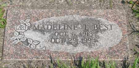 BEST, MADELINE T - Tillamook County, Oregon   MADELINE T BEST - Oregon Gravestone Photos