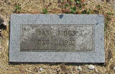 BIGGS, BABY - Tillamook County, Oregon | BABY BIGGS - Oregon Gravestone Photos