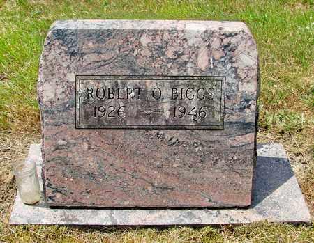 BIGGS, ROBERT O - Tillamook County, Oregon   ROBERT O BIGGS - Oregon Gravestone Photos