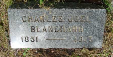 BLANCHARD, CHARLES JOEL - Tillamook County, Oregon   CHARLES JOEL BLANCHARD - Oregon Gravestone Photos
