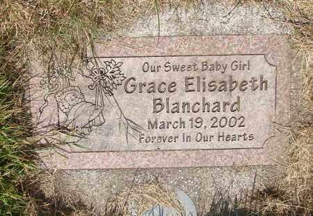 BLANCHARD, GRACE ELISABETH - Tillamook County, Oregon   GRACE ELISABETH BLANCHARD - Oregon Gravestone Photos