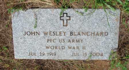 BLANCHARD, JOHN WESLEY - Tillamook County, Oregon | JOHN WESLEY BLANCHARD - Oregon Gravestone Photos