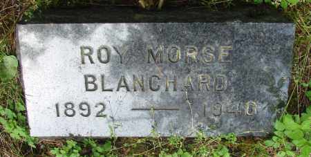 BLANCHARD, ROY MORSE - Tillamook County, Oregon   ROY MORSE BLANCHARD - Oregon Gravestone Photos