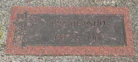BLANDO, EVA - Tillamook County, Oregon | EVA BLANDO - Oregon Gravestone Photos