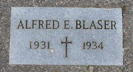 BLASER, ALFRED E - Tillamook County, Oregon | ALFRED E BLASER - Oregon Gravestone Photos