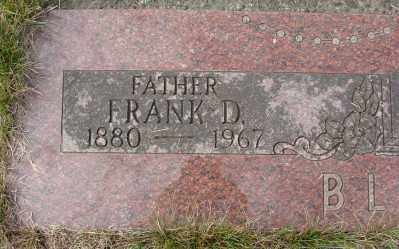 BLASER, FRANK D - Tillamook County, Oregon | FRANK D BLASER - Oregon Gravestone Photos