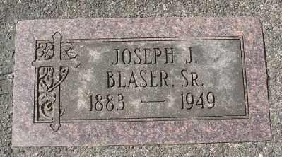 BLASER, JOSEPH J SR - Tillamook County, Oregon | JOSEPH J SR BLASER - Oregon Gravestone Photos