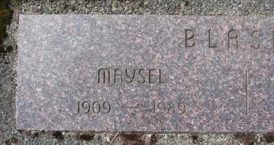 BLASER, MAYSEL - Tillamook County, Oregon | MAYSEL BLASER - Oregon Gravestone Photos