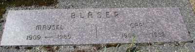 BLASER, CARL J - Tillamook County, Oregon | CARL J BLASER - Oregon Gravestone Photos