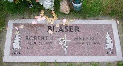 BLASER, ROBERT J - Tillamook County, Oregon | ROBERT J BLASER - Oregon Gravestone Photos